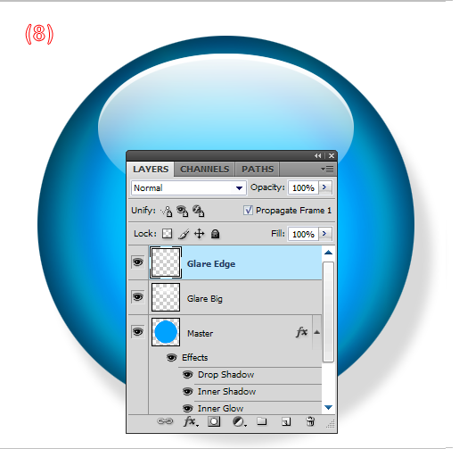 how to make a surface glossy in photoshop